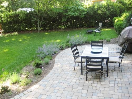 learn landscape patio