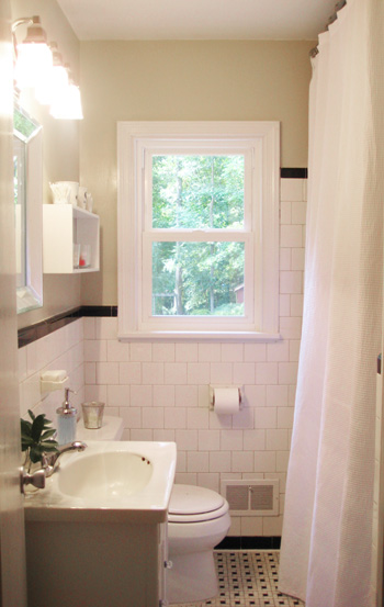 Add Height And Drama To Your Bathroom Makeover By Raising