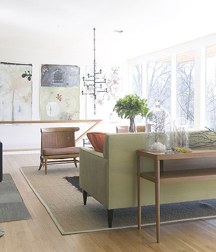 Danish Modern Living Room: House Crashing: A Modern Masterpiece