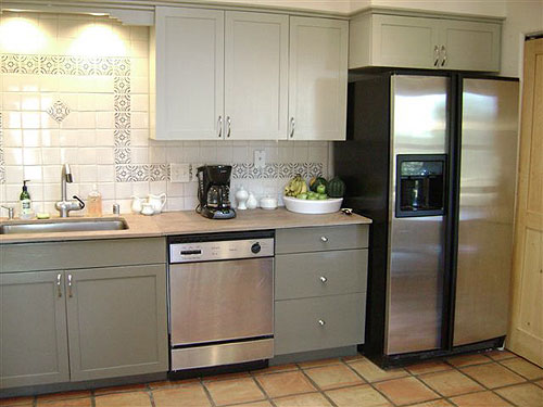 can i paint my kitchen cabinets aid store painting your is easy just follow our step by painted cabinet makeover before and after1