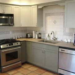 Repaint Kitchen Cabinets Island Table Ideas Painting Your Is Easy Just Follow Our Step By Refinished Repainted Cabinets1