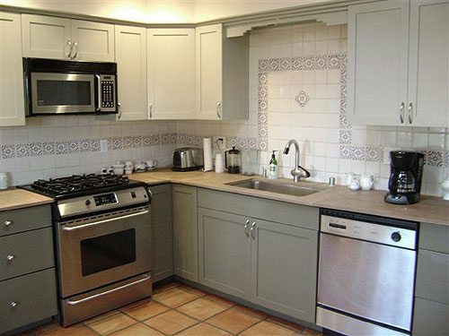 repaint kitchen cabinets real wood painting your is easy just follow our step by refinished repainted cabinets1
