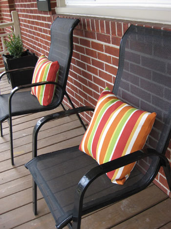bedroom chairs at target french accent how to add curb appeal and welcoming style your front porch on the cheap