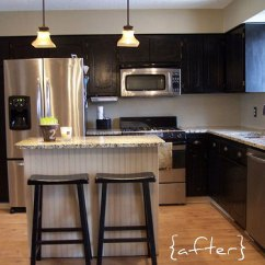Kitchen Stools Target Cabinet Manufacturers Canada This Makeover Was Inexpensive & Impactful Thanks ...