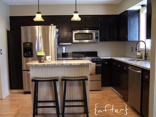 This Kitchen Makeover Was Inexpensive  Impactful Thanks To A DIY Attitude And Some Great