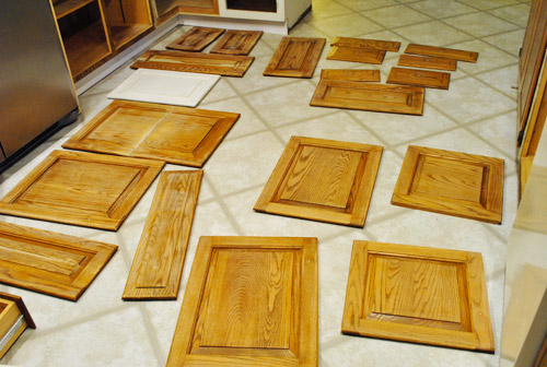 Prepping Cabinets For Paint Sanding Deglossing Wood