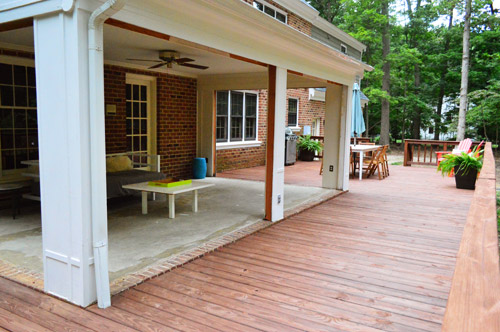 Open Er Up Converting A Sunroom Into A Veranda Young