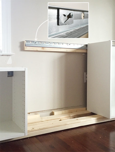 Adding Built Ins Amp White Floating Shelves Around A Window