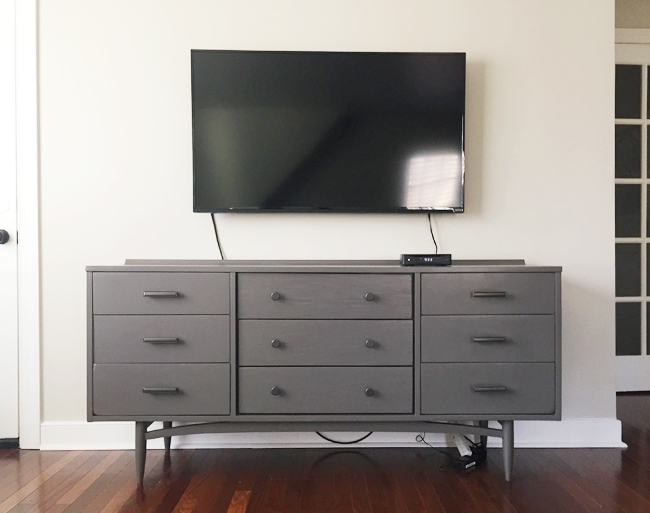 How To Hide TV Wires For A CordFree Wall  Young House Love