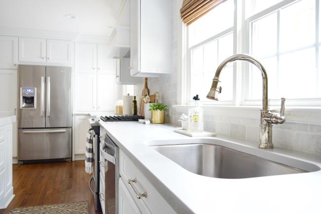 quartz kitchen counters