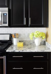 Installing A Subway Tile Backsplash For $200 | Young House ...