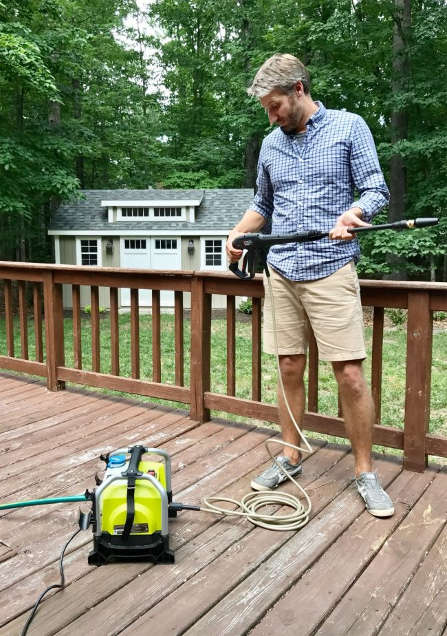 Cleaning Outdoor Cushions With A Cheap Compact Pressure