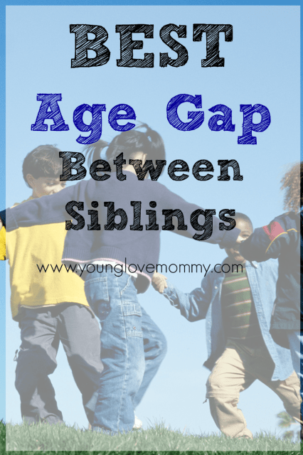 Best age gap between siblings