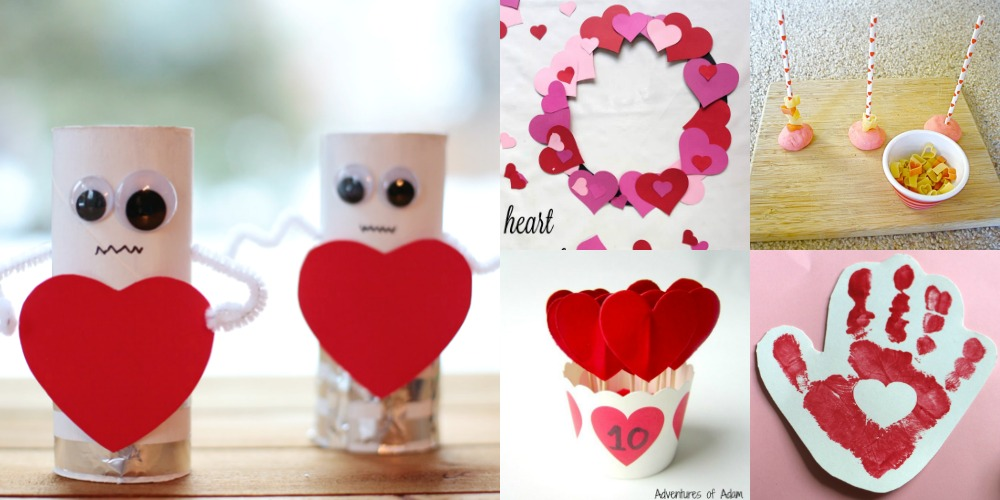 14 Valentine's Day Crafts & Activities for Toddlers