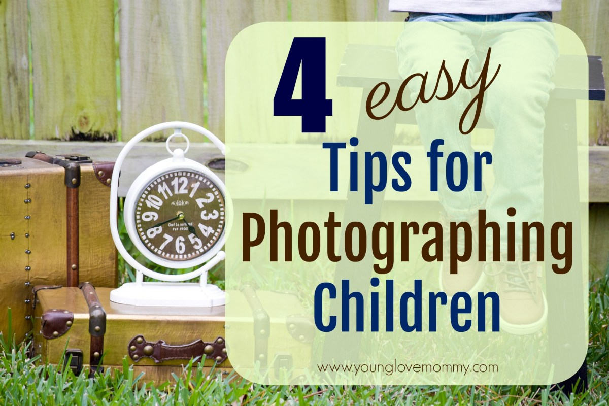 4 Tips for a Smooth Kids Photo Shoot + Giveaway