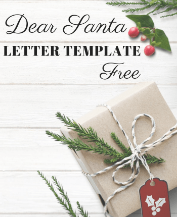 Free download of Dear Santa Letter