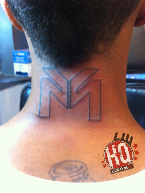 Lil Twist Gets A Young Money Tattoo! Posted on 12.
