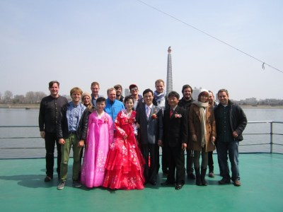 The wedding crashers, Pyongyang, North Korea.