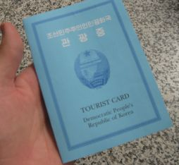 A North Korean visa