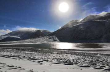 sun on pamir highway
