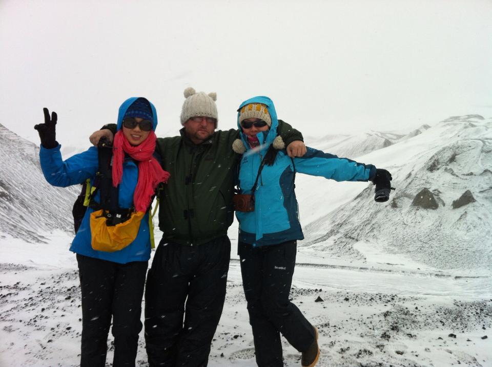 Guests in Antarctica
