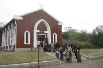 North Korean Christian Worshipers in Pyongyang
