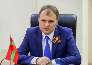 Yevgeny Shevchuk -- Transnistrian president