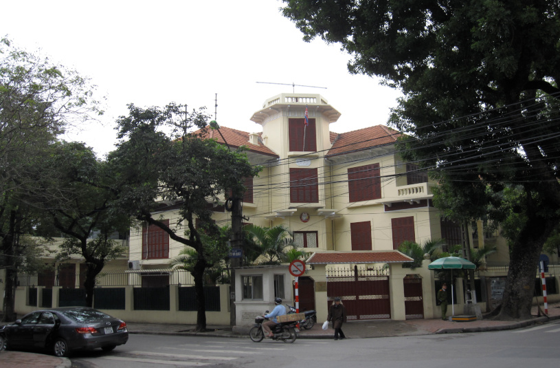 North Korean embassy in Hanoi