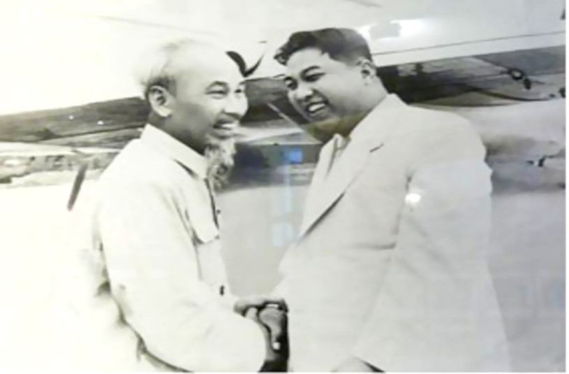The leaders of Vietnam and North Korea.