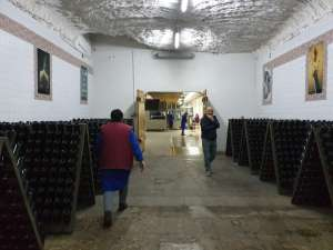Wine cellars in Moldova