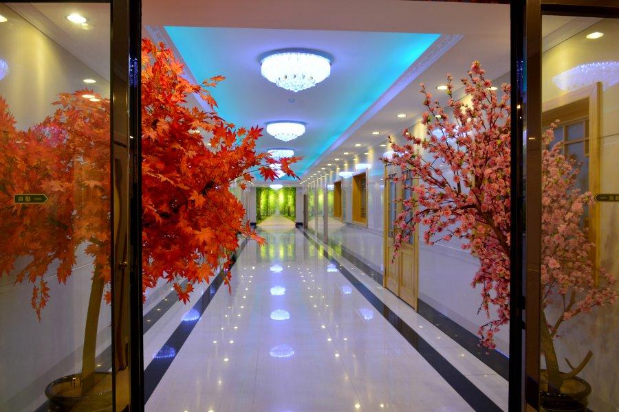Pothonggang Hotel Hallway