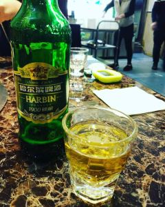 Iconic and historical Harbin beer