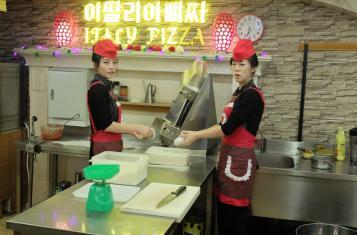 North Korean Waitresses