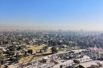 Aerial shot of Iraq.