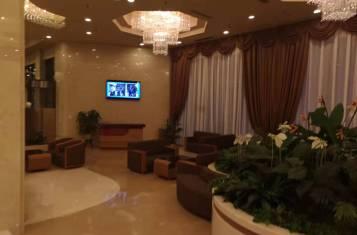 Lobby of the Koryo Hotel