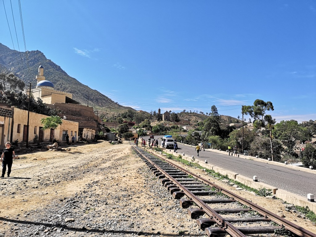 The Eritrea railway track