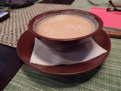 Buryat milk tea