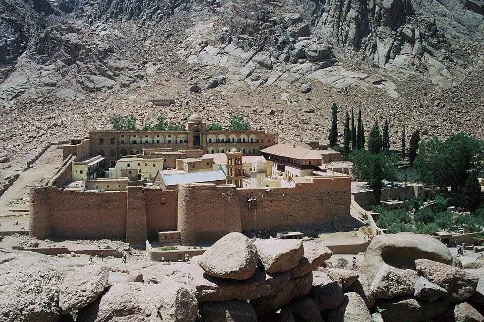 St. Catherine's Monastery at Mount Sinai.