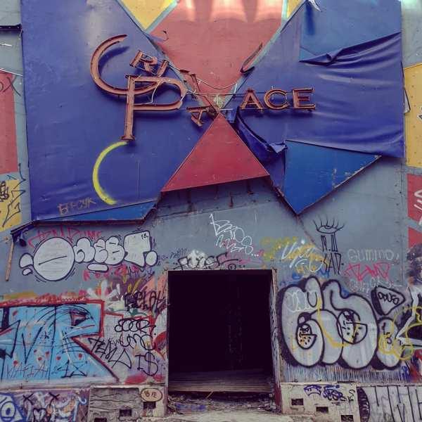 Ruins of Odessa's nightclubs