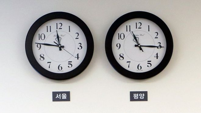 North Korea time: the unconventional half-hour difference