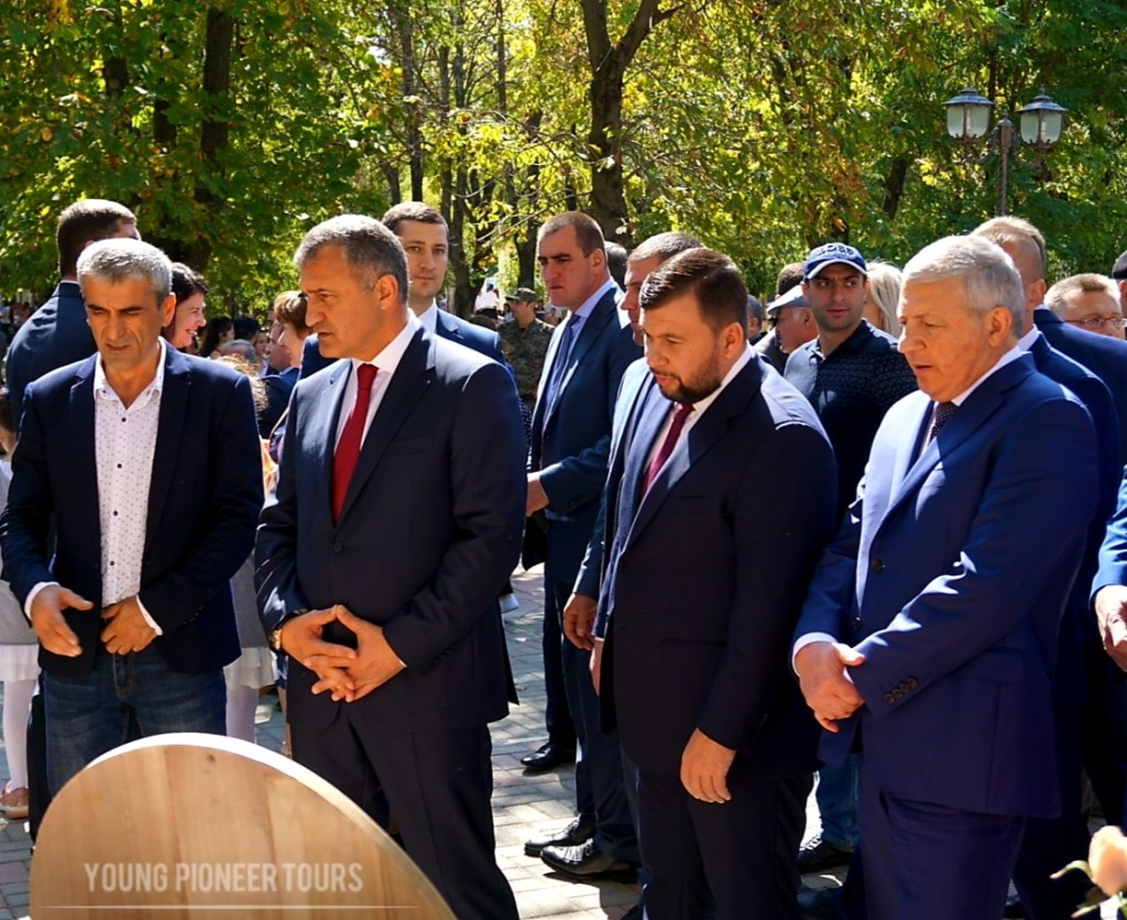 President of Donetsk in South Ossetia for independence day