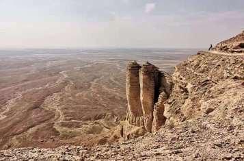 Edge of the World in Saudi Arabia KSA