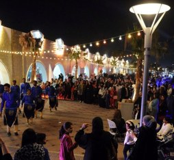 A food festival in Bahrain