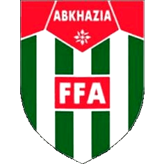 The badge of Abkhazia's football team.