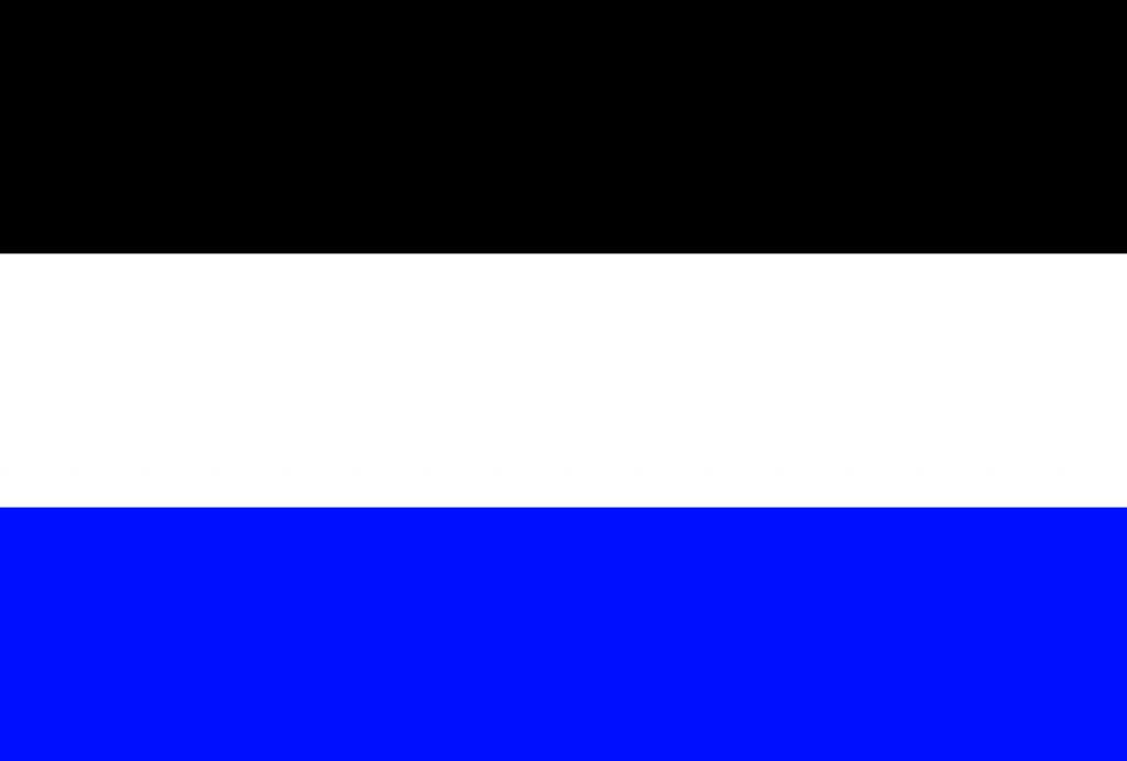 The flag of Neutral Moresnet.