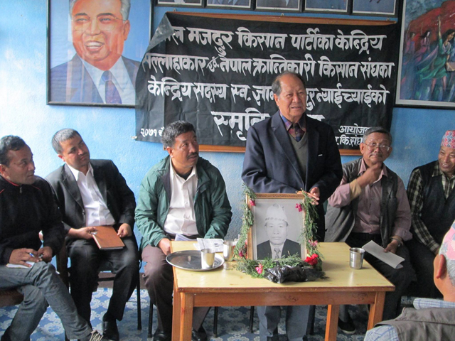 Nepali Workers Peasants Party, which embraces what is Juche.