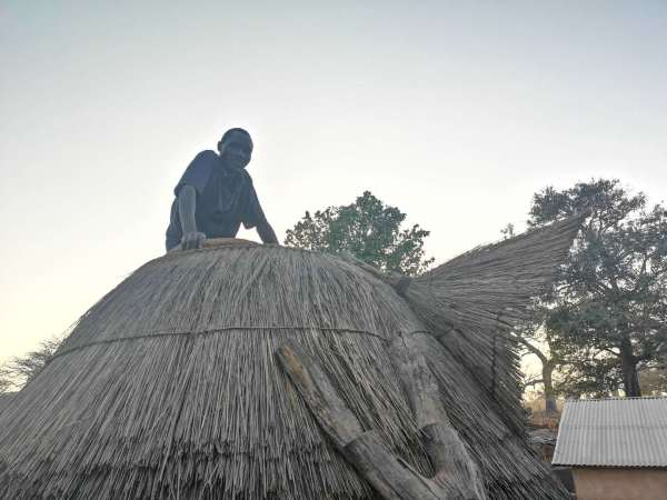 Each room of a tata-somba is paired with a traditional granary