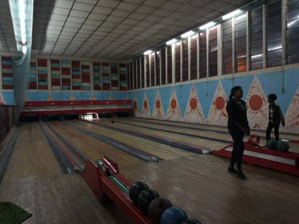 The bowling alley of Asmara, in Eritrea
