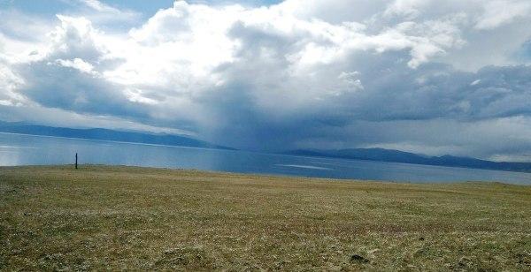 Lake Khovsgol, site where takes place the Mongolia Ice Marathon