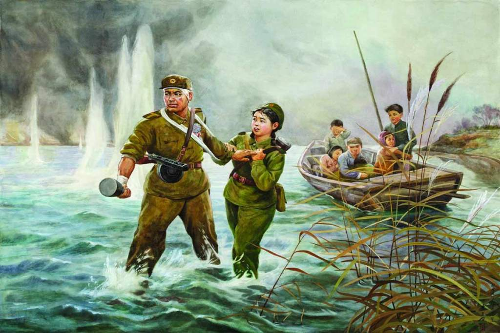 Korean socialist realist art